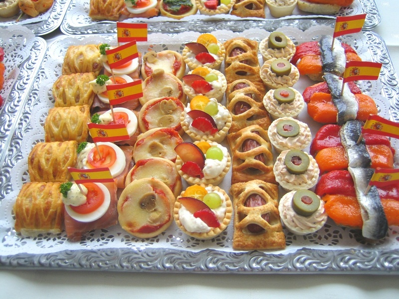 Food for Canape para coctel